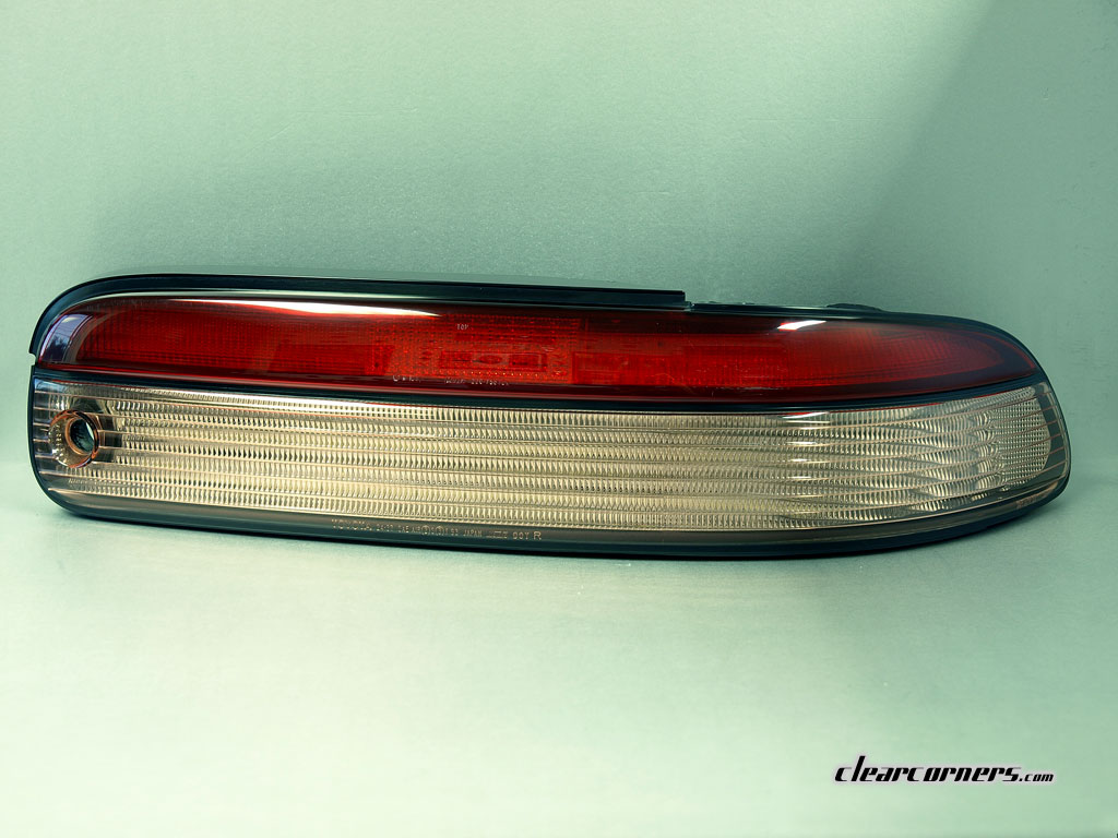 95-96 Lexus Z3 SC300 | SC400 (Soarer) — 1/2 Red 1/2 Clear LED Tail