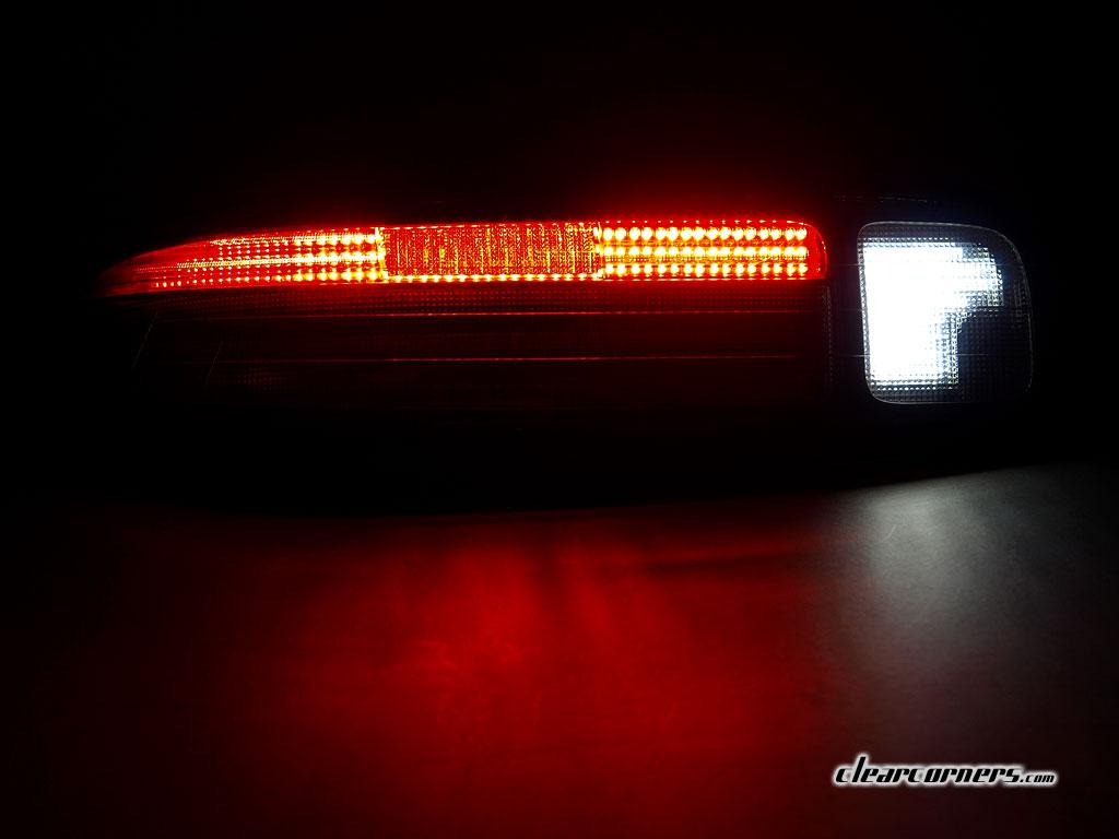 97-00 Lexus Z3 SC300   SC400 (Soarer) — 1/2 Red 1/2 Clear LED Tail